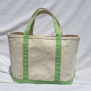 L.L. Bean Boat And Tote Bag Canvas